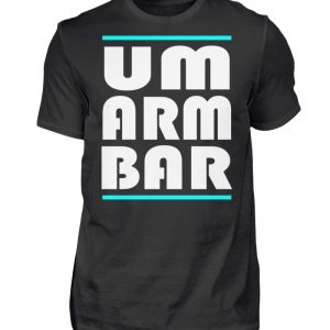 Wenn Du nicht auf Abstand gehen willst, sondern umarmbar ist, zeige das - Herren Shirt-16