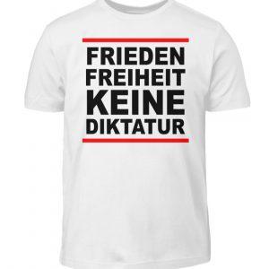 Frieden, Freiheit, keine Diktatur. Design für den Widerstand. Demo - Kinder T-Shirt-3