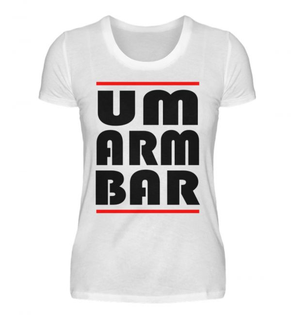 Wenn Du nicht auf Abstand gehen willst, sondern umarmbar ist, zeige das - Damenshirt-3