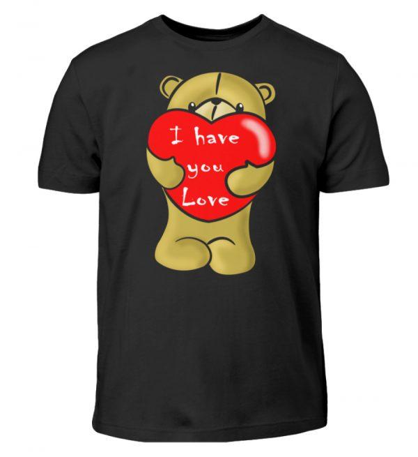 Ein süßer, verliebter Bär mit schlechtem Englisch macht Dir eine Liebeserklärung - Kinder T-Shirt-16