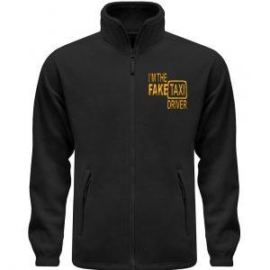 I-m the fake Txi Driver Taxifahrer Geschenkidee für Droschkenfahrer - Fleece Jacke mit Stick-16