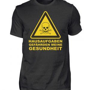 hausaufgaben gefährden s p - Herren Shirt-16