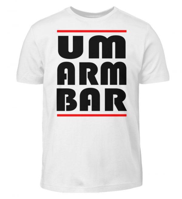 Wenn Du nicht auf Abstand gehen willst, sondern umarmbar ist, zeige das - Kinder T-Shirt-3