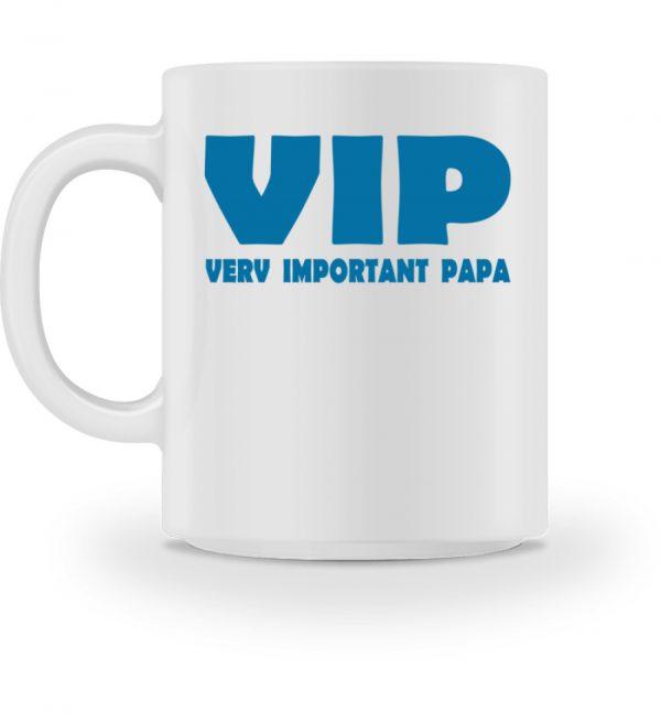 Very Important Papa. Geschenkidee zum Vatertag oder Opatag. VIP - Tasse-3