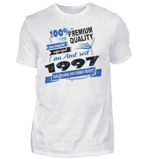 Cooles Geburtstagsgeschenk Gdeburtstagsshirt 1997 geboren. Happy Birthday Geburtstagskind - Herren Shirt-3