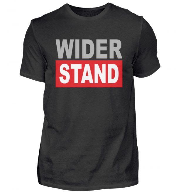 Widerstand. Das Shirtdesign für den aktiven Widerstand gegen Grundrechtseinschränkungen - Herren Shirt-16