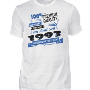 Cooles Geburtstagsgeschenk Gdeburtstagsshirt 1993 geboren. Happy Birthday Geburtstagskind - Herren Shirt-3
