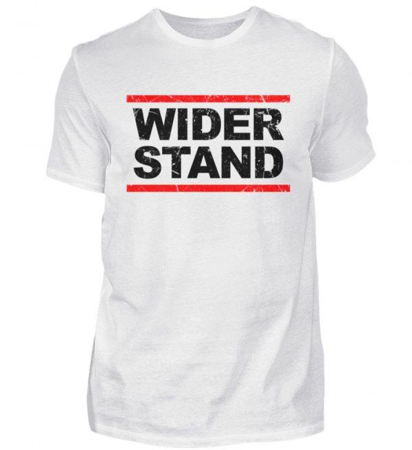 Für das Grundgesetz. Widerstands Shirt. Widersetze Dich. Steh auf und leiste Widerstand - Herren Shirt-3