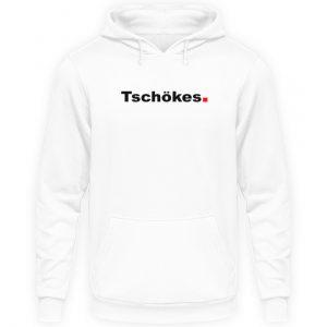 Lustiges Spruch T-Shirt | Düsseldorfer Platt Tschökes Mundart | Design Shirt - Unisex Kapuzenpullover Hoodie-1478