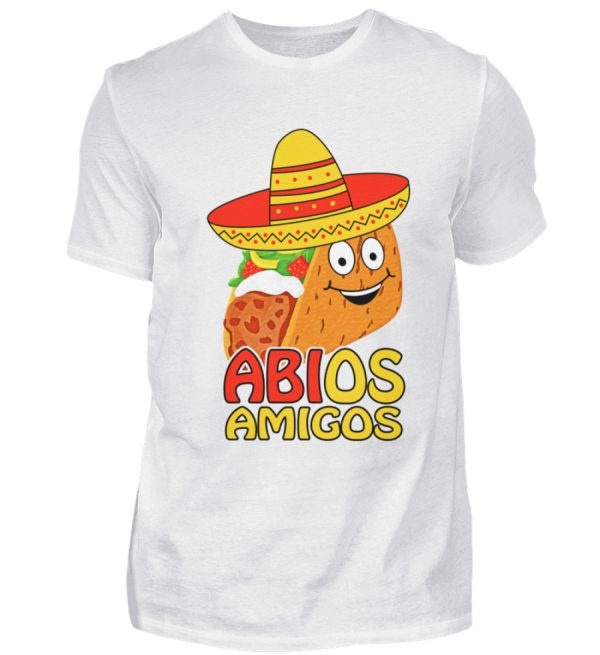 Lustiges Shirt zum ABI Abschluss Schulabschluss | Taco mit Sombrero - Herren Shirt-3