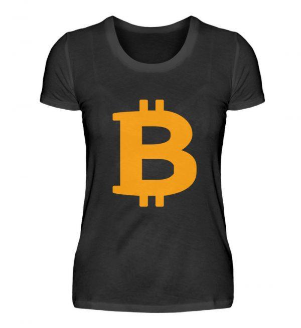 Bitcoin Crryptowährung Internetgeld mit . In Crypto we trust. BTC Wallet - Damenshirt-16