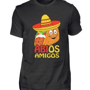 Lustiges Shirt zum ABI Abschluss Schulabschluss | Taco mit Sombrero - Herren Shirt-16