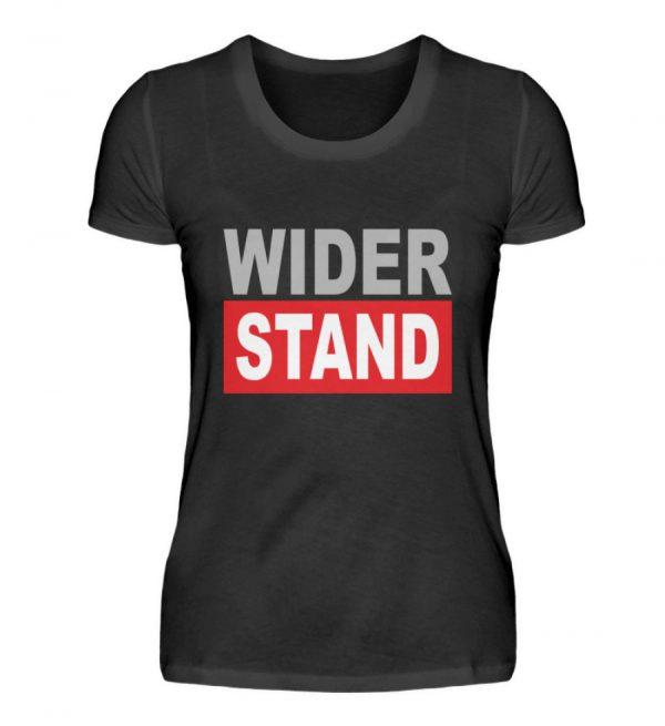 Widerstand. Das Shirtdesign für den aktiven Widerstand gegen Grundrechtseinschränkungen - Damenshirt-16