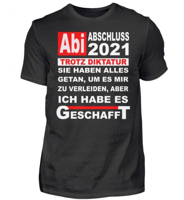 Lustiges Shirt für den Schulabschluss, Abitur 2021. Herzlichen Glückwunsch - Herren Shirt-16