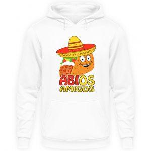 Lustiges Shirt zum ABI Abschluss Schulabschluss | Taco mit Sombrero - Unisex Kapuzenpullover Hoodie-1478