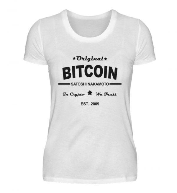 Satoshi Nakamoto, der geheimnisumwitterte Erfinder der Cryptowährung Bitcoin - Damenshirt-3