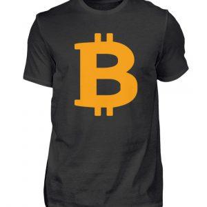 Bitcoin Crryptowährung Internetgeld mit . In Crypto we trust. BTC Wallet - Herren Shirt-16