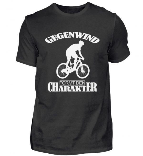 Gegenwind formt den Charakter. Geschenkidee für Radfahrer, Biker, Mountainbiker - Herren Shirt-16