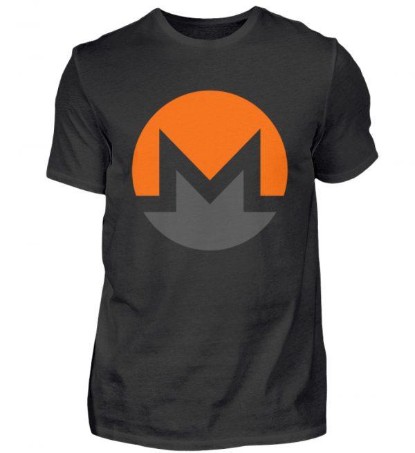 Monero Cryptowährung Internetgeld Internetwährung. Monero-Logo. In Crypto we trust - Herren Shirt-16