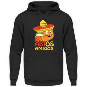 Lustiges Shirt zum ABI Abschluss Schulabschluss | Taco mit Sombrero - Unisex Kapuzenpullover Hoodie-1624