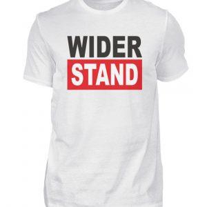 Widerstand. Das Shirtdesign für den aktiven Widerstand gegen Grundrechtseinschränkungen - Herren Premiumshirt-3