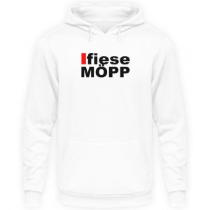 Lustiges Spruch T-Shirt | Düsseldorfer Platt Fiese Möpp Mundart | Design Shirt - Unisex Kapuzenpullover Hoodie-1478