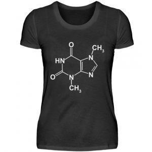 Schokolade macht Dich glücklich. Chemische Formel für Schokoladenfans - Damenshirt-16