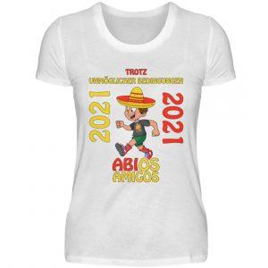 Lustiges Shirt für den Schulabschluss, Abitur 2021. Herzlichen Glückwunsch - Damenshirt-3
