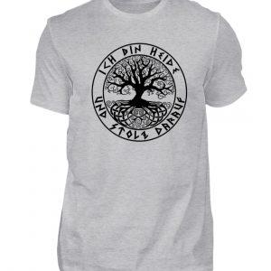 Ich bin Heide und stolz darauf - Herren Shirt-17