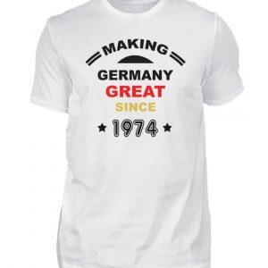 Making Germany Great since 1974. Geschenkidee zum Geburtstag - Herren Shirt-3