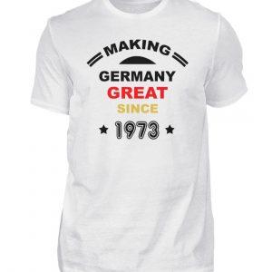 Making Germany Great since 1973. Geschenkidee zum Geburtstag - Herren Shirt-3