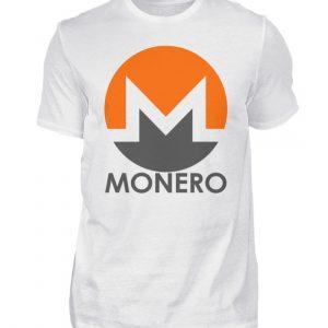 Monero Cryptowährung Internetgeld Internetwährung. Monero-Logo. In Crypto we trust - Herren Shirt-3